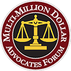 Multi-Million Dollar Advocates Badge