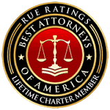 Rue Ratings Best Attorneys of America Charter member
