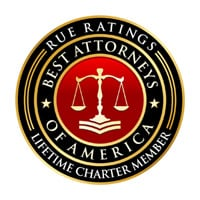 Rue Ratings' BEST ATTORNEYS OF AMERICA Lifetime Charter Member