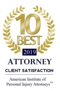 American Institute of Personal Injury Attorneys 10 Best Attorneys 2019