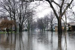 Merrillville, Indiana flood
