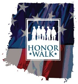 Honor Walk Logo