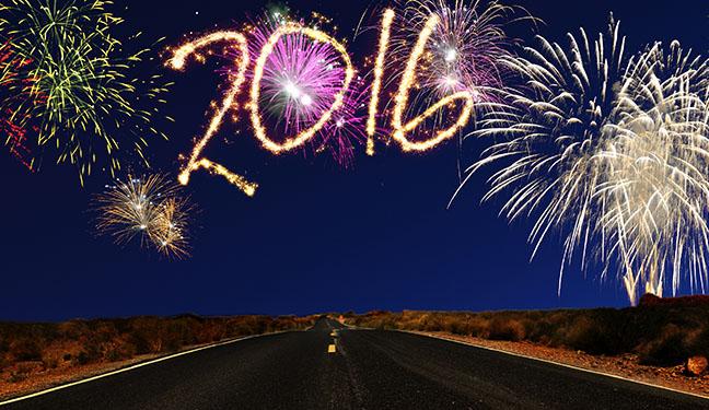 2016 Happy New Year's