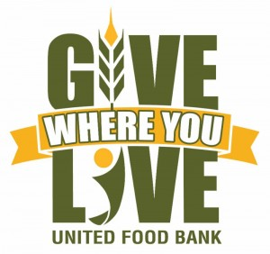 Give Where You Live - United Food Bank