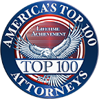 Top 100 Attorneys Lifetime Achievement Seal