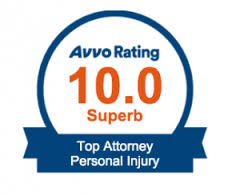 Avvo 10 rating personal injury