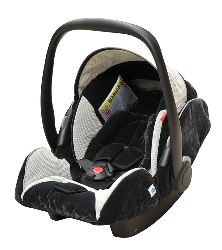 car seat after a car accident