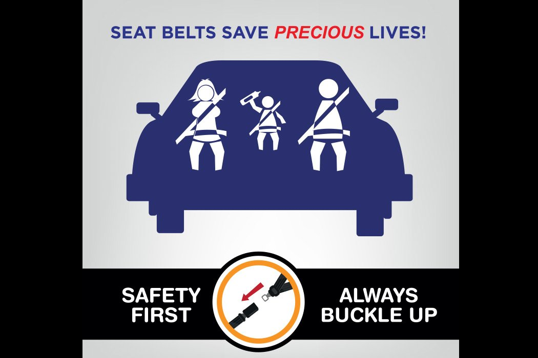buckle up for save holiday travel