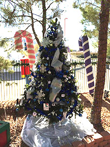 Decorated tree Las Vegas Students Get Magical Opportunity