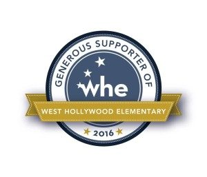 Logo: West Hollywood Elementary Gala