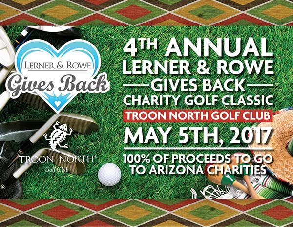 Lerner and Rowe Gives Back Charity Golf Classic
