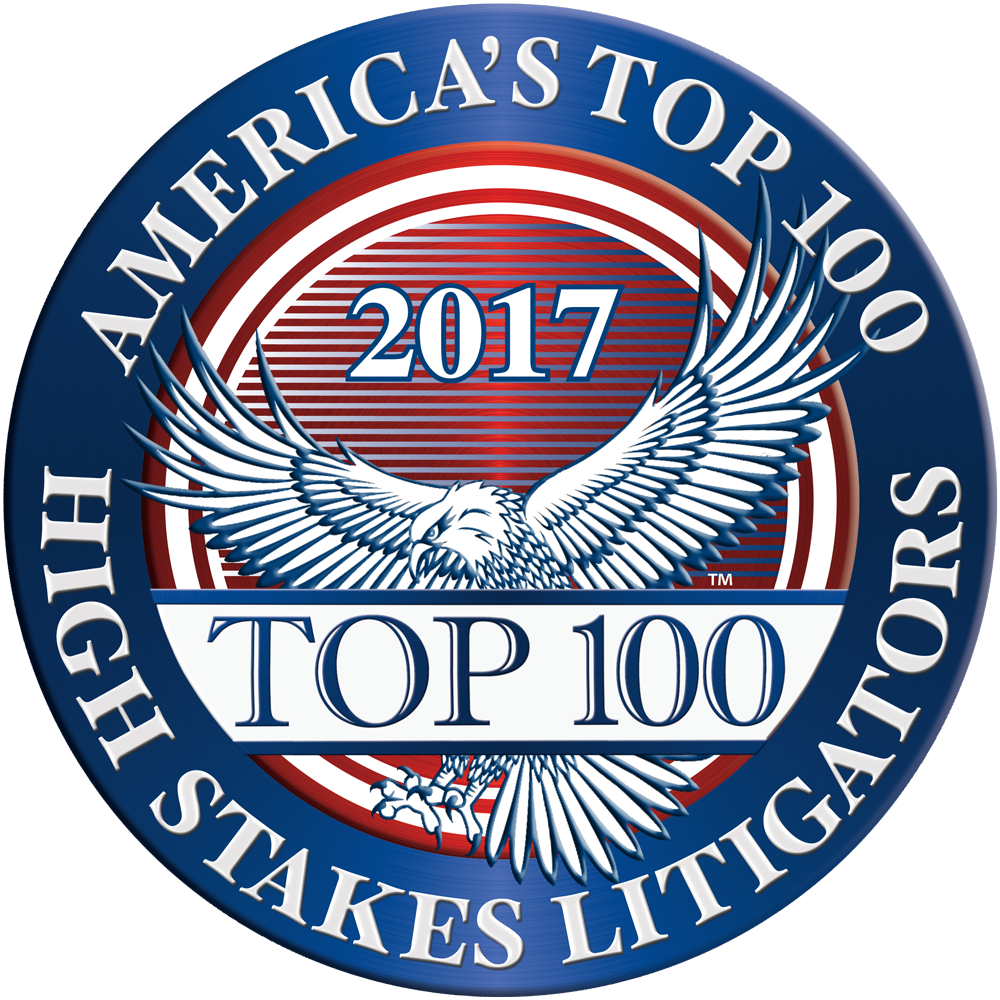 Top 100 High Stakes Litigators 2017
