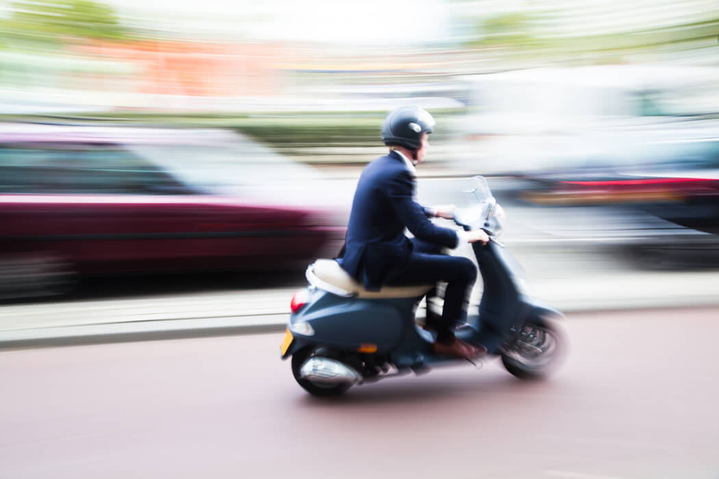 Las Vegas motorcycle lawyers- Scooter