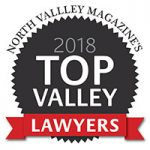 North Valley Mag | Top Valley Lawyer 2018