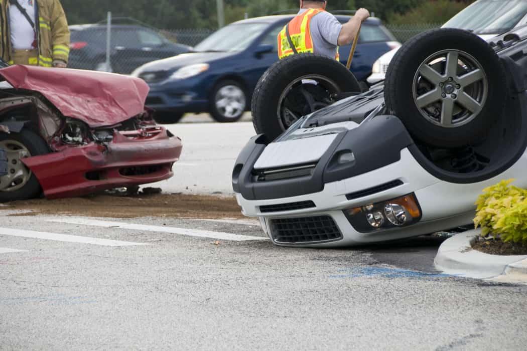 Abogados de accidentes de vuelco de Las Vegas