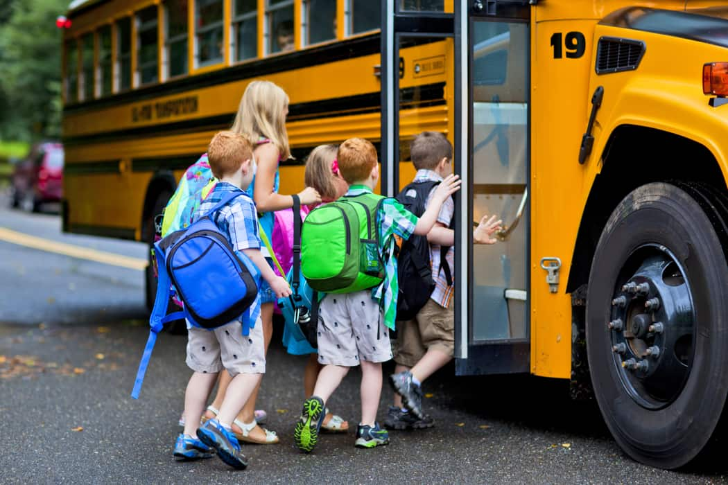 Back to School bus and bicycle safety