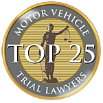 Top 25 Motor Vehicle Trial Lawyers Seal