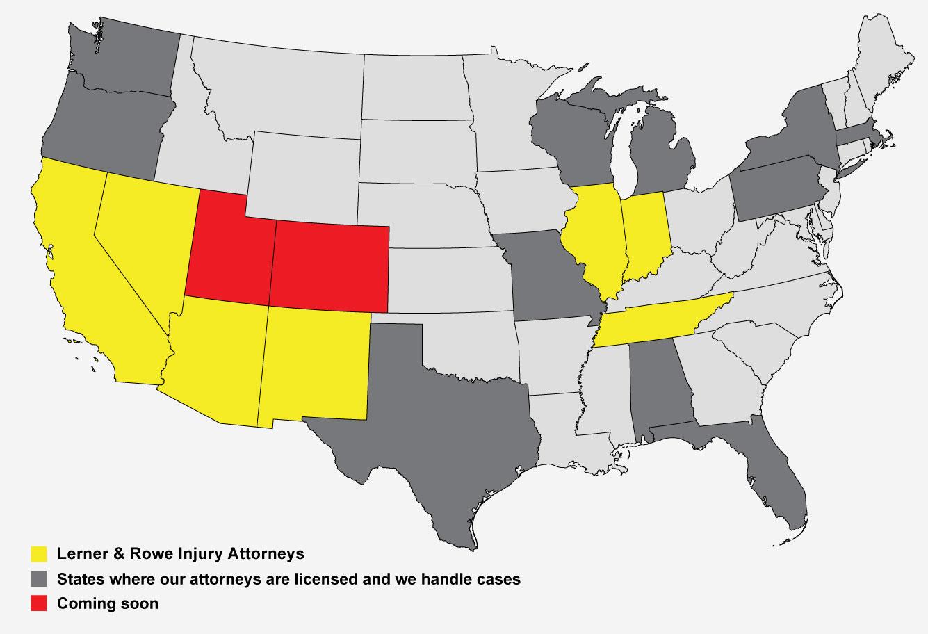 Glen Lerner National Locations