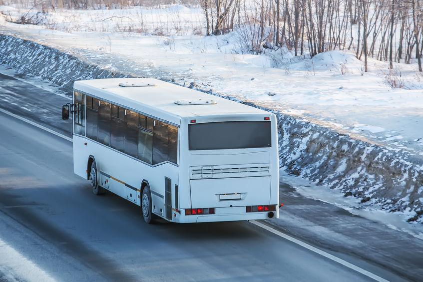 winter bus accident injury