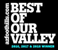 Voted Best of Valley 2016 & 2017