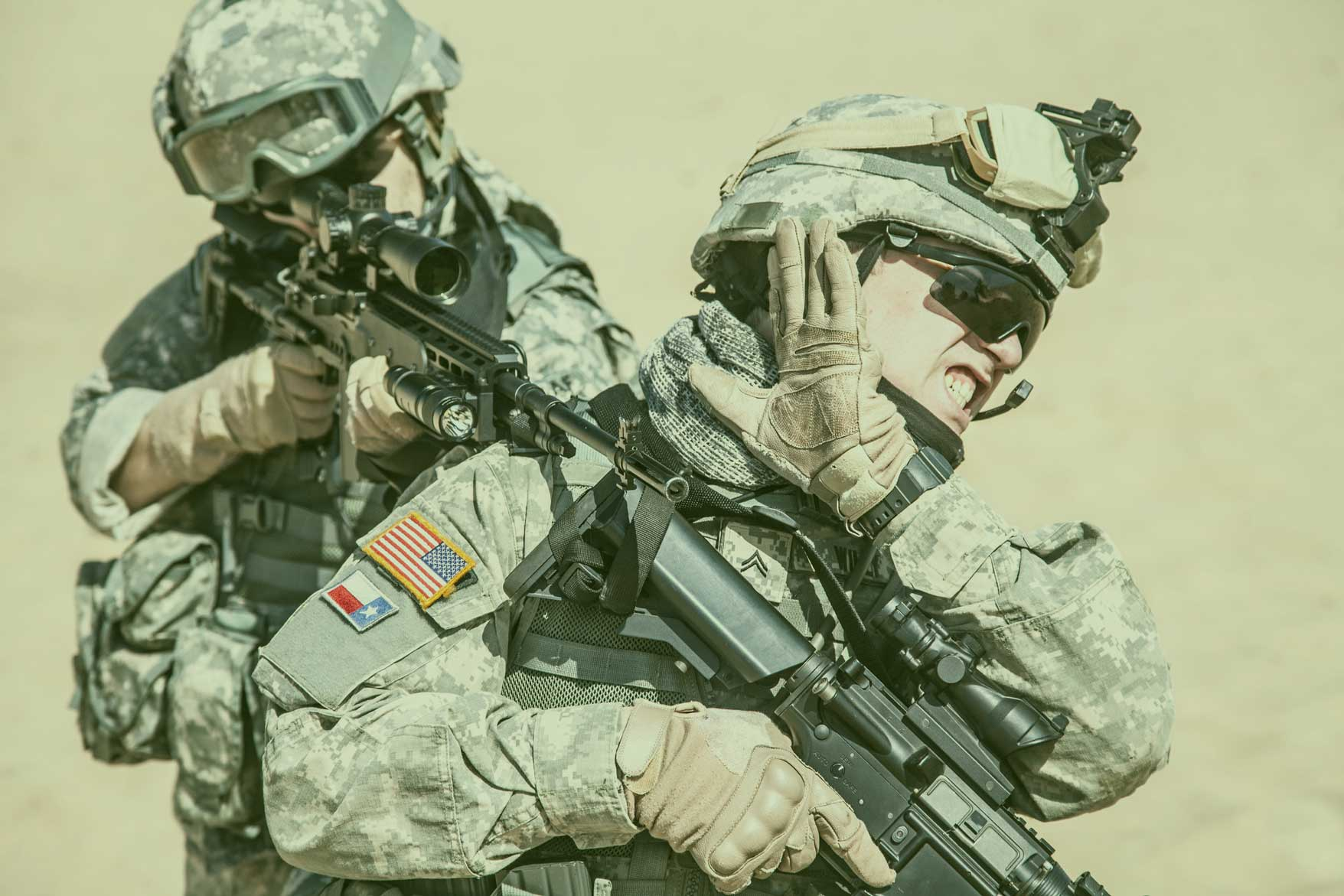 Defective Military Earplugs